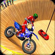 Well Of Death Games Bike Stunt Drive 3d