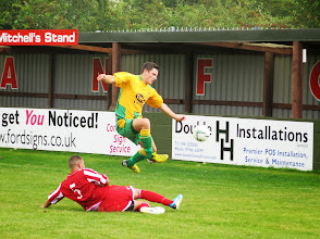 Photo: 31/08/13 v Holwell Sports (East Midlands Counties League) 2-1 - contributed by Leon Gladwell