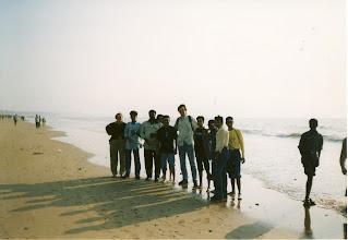 Photo: Groupphoto Mumbai Beach