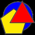 Geometric Shapes: Triangles & Circle Geometry Quiz Icon