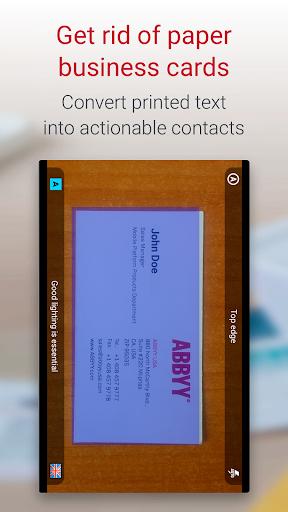 Business Card Reader Pro - Business Card Scanner  screenshots 1