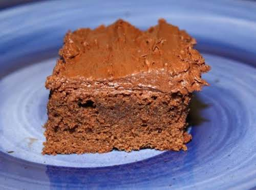 """Frosted Fudge Brownies """"Absolutely wonderful brownies. I agree, I will never buy..."""