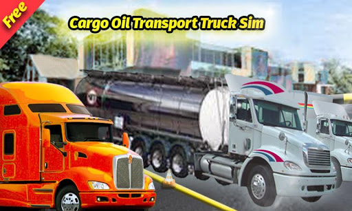 Cargo Oil Transport Truck Sim