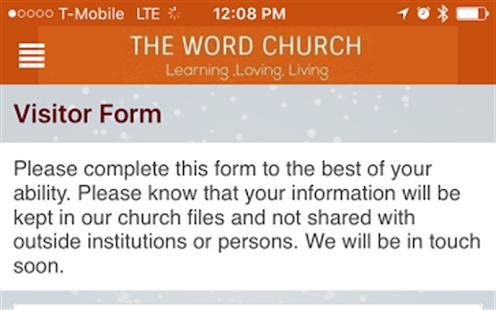 The Word Church AZ - náhled