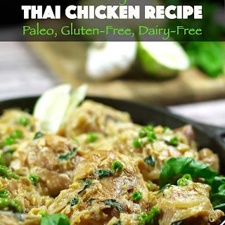 Easy Thai Chicken Recipe (Paleo, Gluten-Free, Dairy-Free).