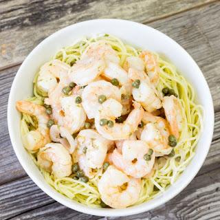 Twisted Shrimp Scaloppini