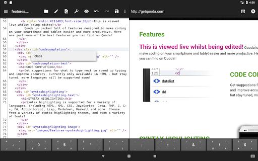 Quoda Code Editor 2.0.0.7 Screenshots 9
