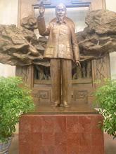 Photo: Ho Či Min ve svém muzeu