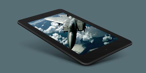 Aircraft Sky Live Wallpaper