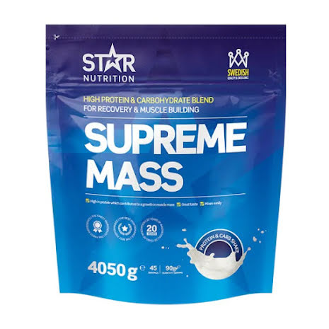 Star Nutrition Supreme Mass 4050g - Strawberry