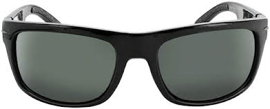 Optic Nerve ONE Timberline Polarized Sunglasses: Shiny Black with Polarized Smoke/Silver Flash Lens alternate image 1