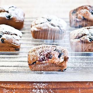 Blueberry & Raspberry Mini Loaves