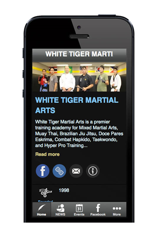WHITE TIGER MMA