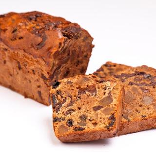 Chocolate, Ginger and Cardamom Tea Bread.