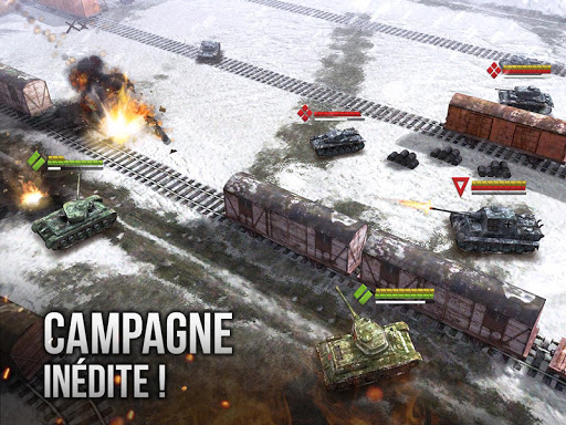 Armor Age: Tank Wars — WW2 Platoon Battle Tactics  captures d'écran 1