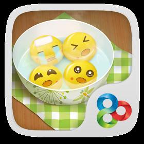 Dumpling guy GO Launcher Theme