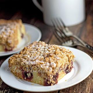 Raspberry Butter Crumb Cake