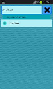 Słownik Ortograficzny polski- screenshot thumbnail