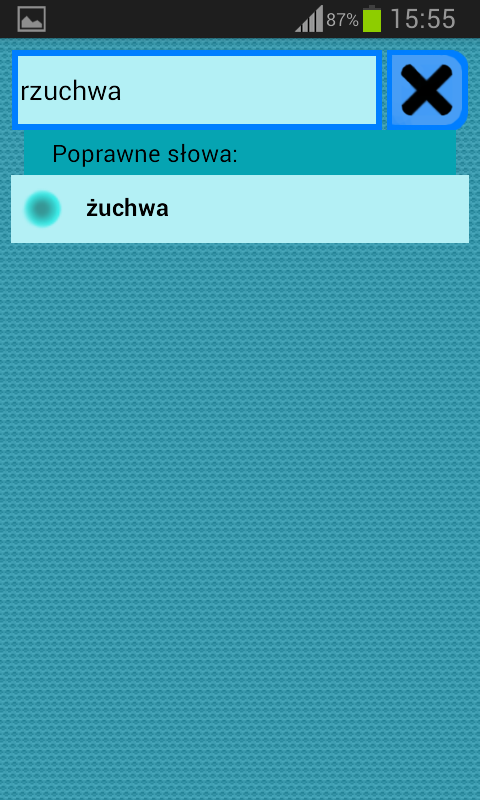 Słownik Ortograficzny polski- screenshot