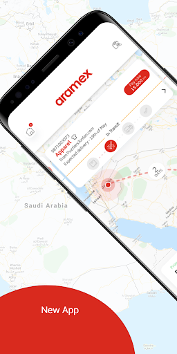 Aramex Mobile 4.1.4 release Screenshots 1