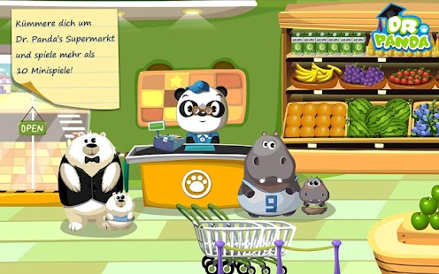 Dr. Panda Supermarkt Screenshot