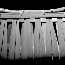 Bag by Philippe Smith-Smith - Artistic Objects Other Objects ( shadow, light, bammboo, bag, black and white )