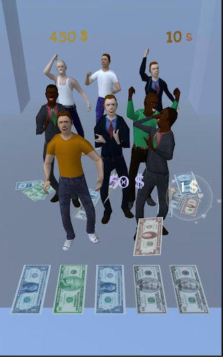 Flying Money : Casual swipe challange game  captures d'écran 2