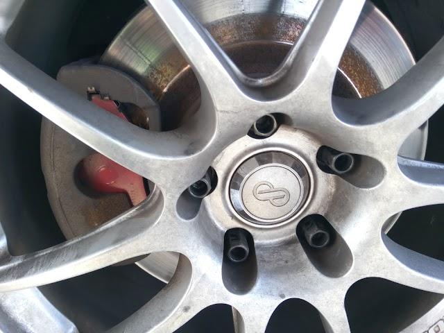ブレーキ使用前