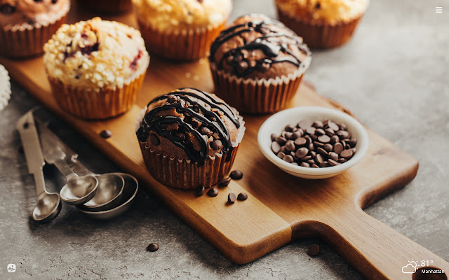 Muffins HD Wallpapers New Tab Theme