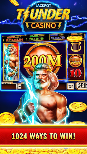 Thunder Jackpot Slots Casino - Free Slot Games screenshots 3