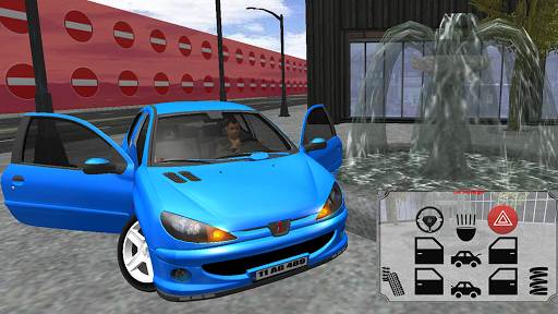 206 Driving Simulator  captures d'u00e9cran 1