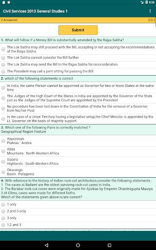 UPSC Previous Papers 1.3 screenshots 8