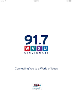 WVXU Public Radio App- screenshot thumbnail
