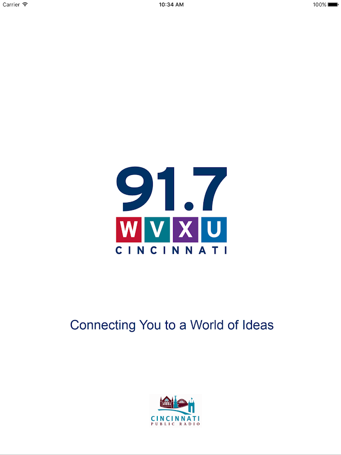 WVXU Public Radio App- screenshot