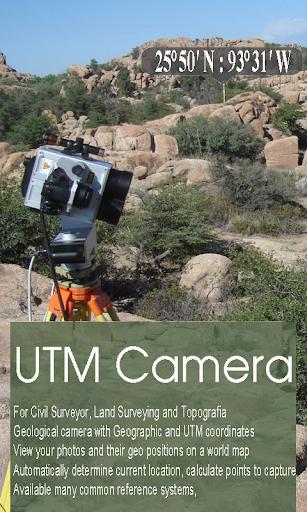 UTM MapCam - Geo Camera