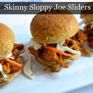 Skinny Sloppy Joe Sliders.