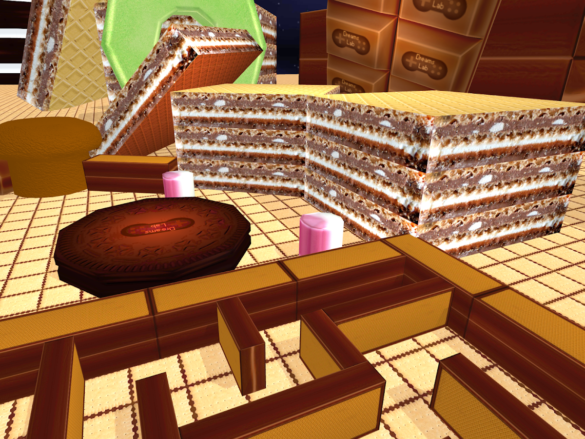 VR Maze 3D - Cookie Labyrinth- screenshot
