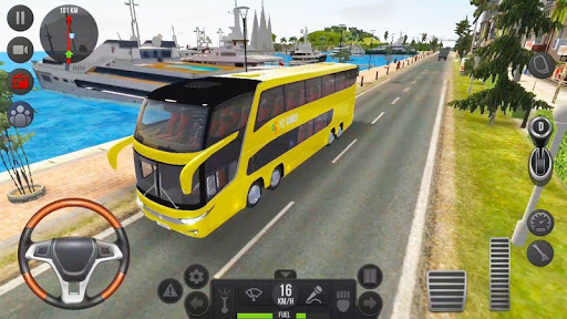 City Coach Bus 2: Uphill Tourist Driver Simulator 1.0 screenshots 4