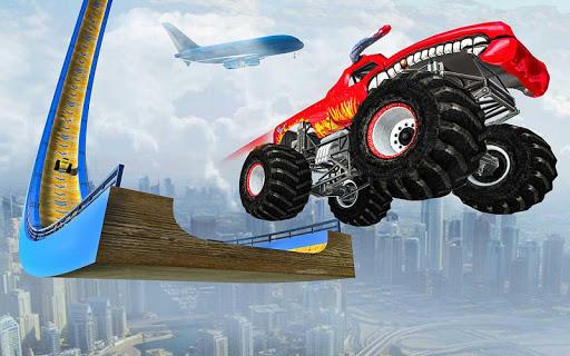 Ramp Monster Truck Stunts:New Racing Games Apk 1