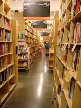 Photo: Powell Books is huge!