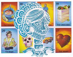 Photo: Wenchkin's Mail Art 366 - Day 131, card 131a