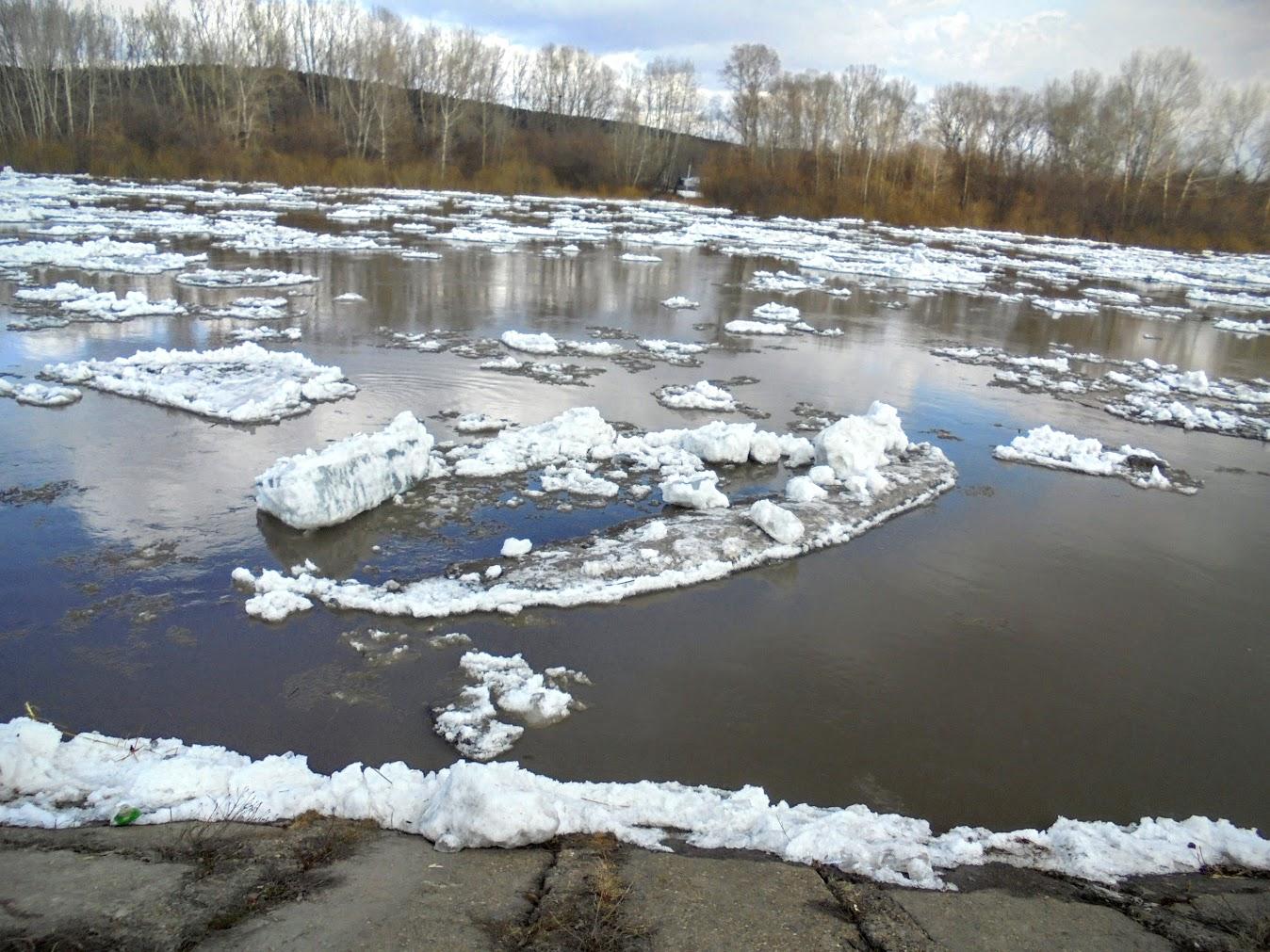 картинки весна ледоход на реке симпатичную троицу вышивают