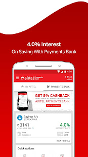 App My Airtel-Recharge, Pay Bills, Bank & Avail Offers APK for Windows Phone