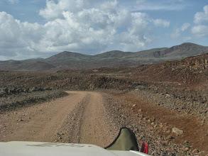 Photo: Durch die Vulkanlandschaft