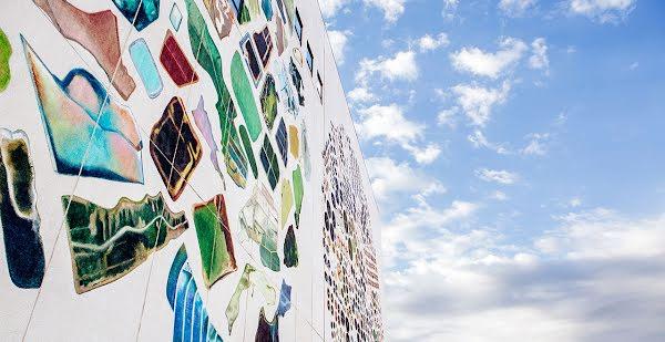 Murals on data center