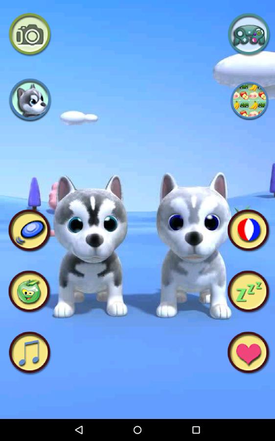 Talking Husky Dog- screenshot