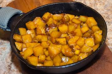 Side Essentials: Spicy Cubed Potatoes and Onions