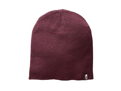 Accesorii Femei The North Face Merino Reversible Beanie Fig BrownRumba Red