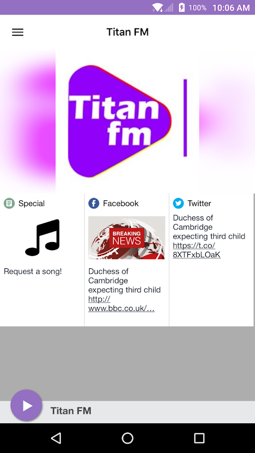 Titan FM- screenshot