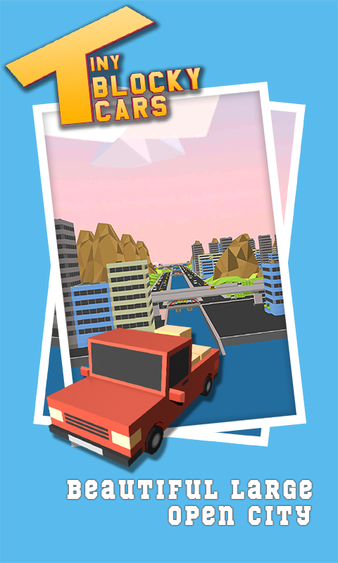Tiny Blocky Cars- screenshot